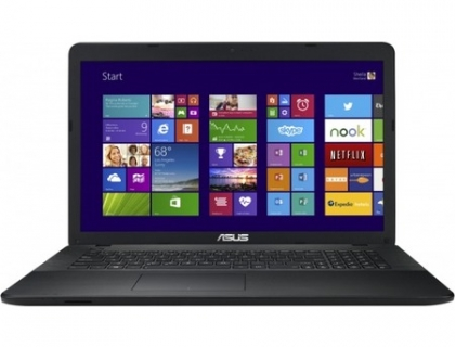 "Ноутбук ASUS X751MA (Intel Pentium N3540 2160 MHz/17.3""/1600x900/4.0Gb/500Gb/DVD-RW/Intel GMA HD/Wi-Fi/Bluetooth/Win 10 Home) 90NB0611-M05520"
