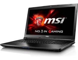 "MSI GL72 6QD (Intel Core i7 6700HQ 2600 MHz/17.3""/1920x1080/8Gb/1000Gb/DVD-RW/NVIDIA GeForce GTX 950M/Wi-Fi/Bluetooth/DOS) (9S7-179675-006)"